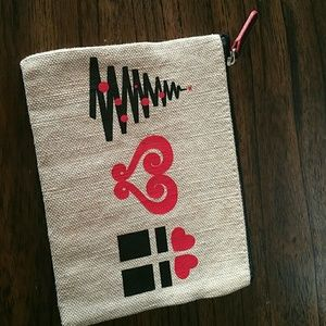 Brighton zipper bag or jewelry carrier